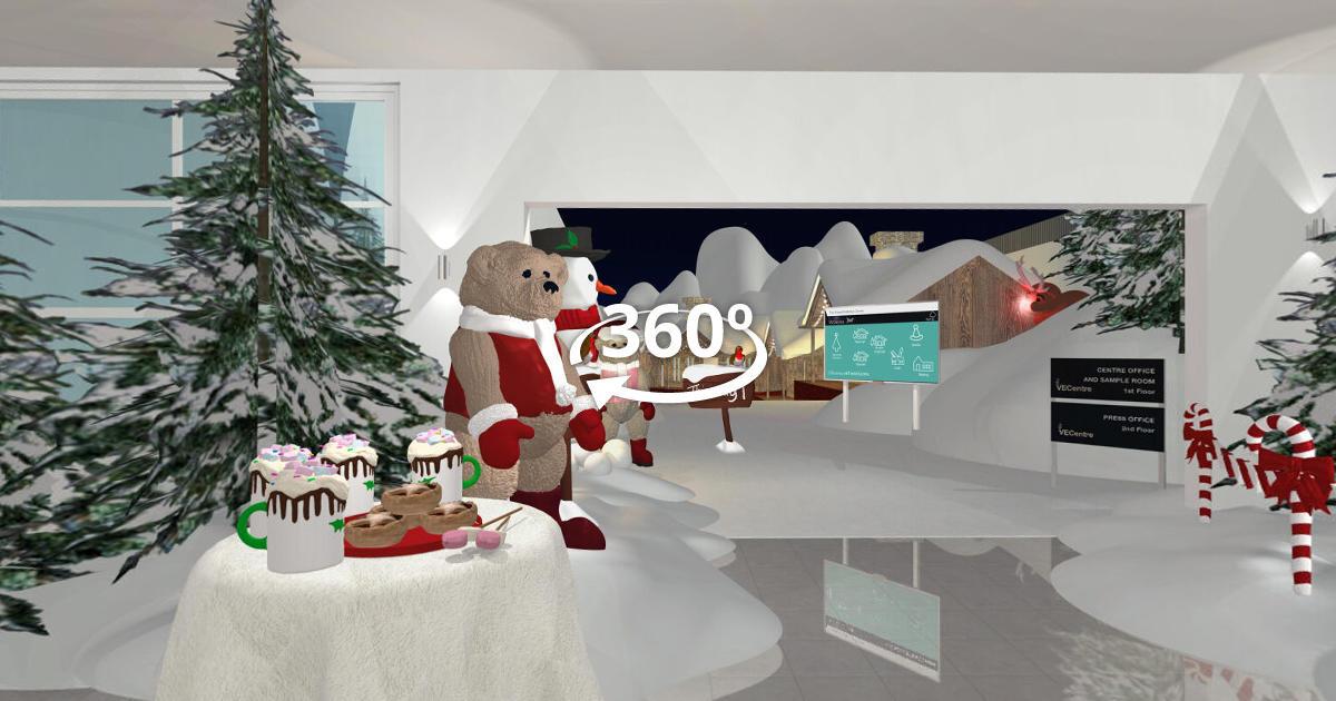 Screenshot of the The Christmas tour tour
